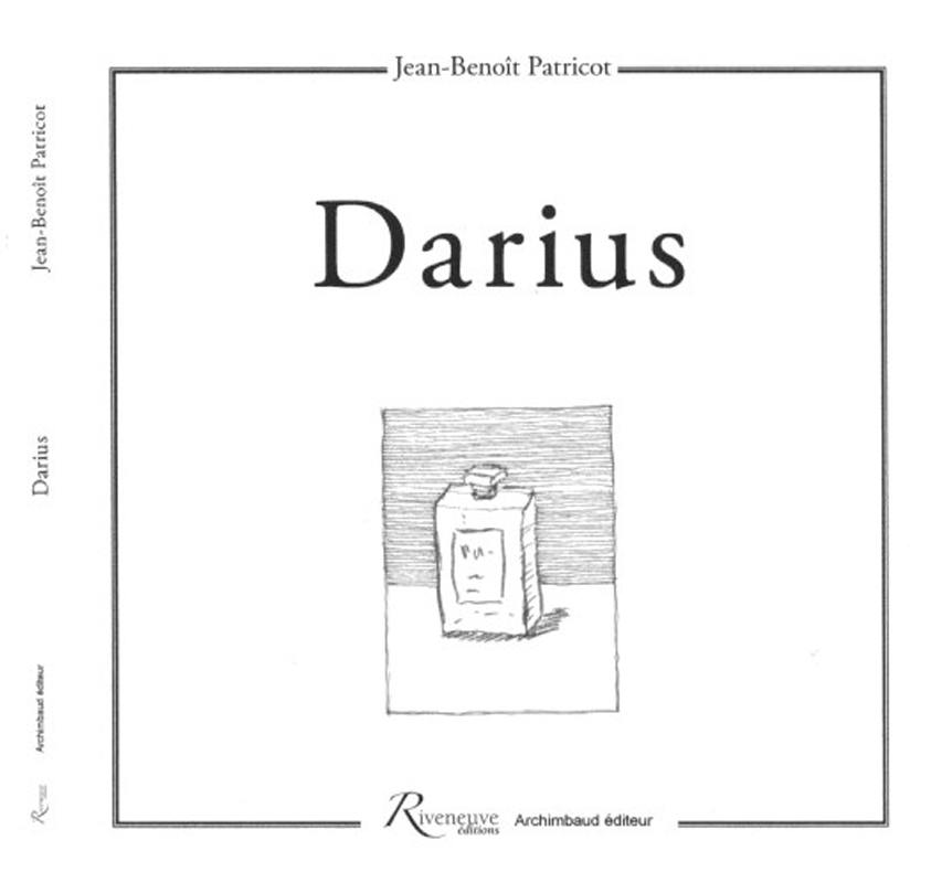 couverture-livre-Darius Jean-Benoît Patricot